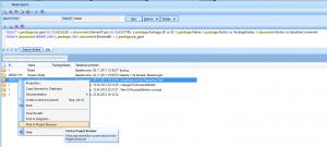 Baseline SQL Suche
