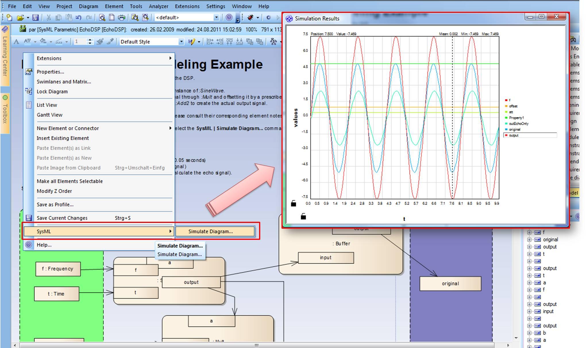 Sysml Mdg Technology Oder Doch Systems Engineering Edition Was Ist Diagram Simulation Eines Parametric Zusicherungsdiagramm Seit Es Die