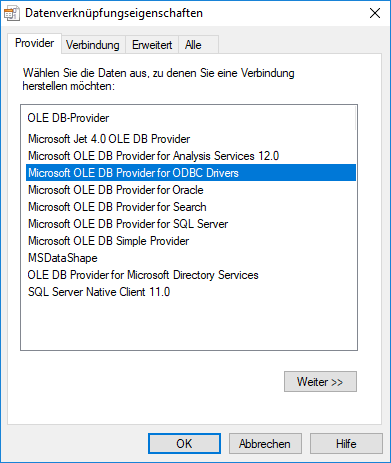 Transfer a File-based Project Repository into a DBMS