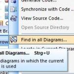 Find in Diagramm