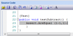 NUnit-Test Code